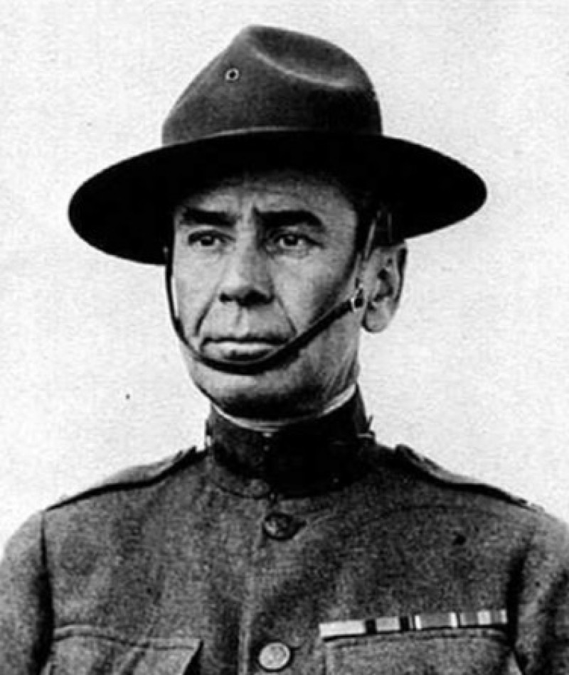 Medal of Honor Recipient Julien E. Gaujot