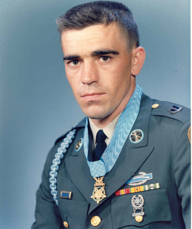 "Medal of Honor Recipient Raymond Richard ""Buzzer"" Wright"