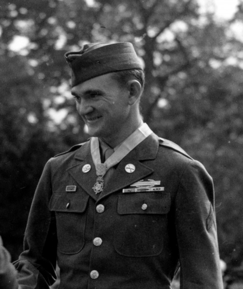 "Medal of Honor Recipient Thomas Eugene ""gene"" Atkins"
