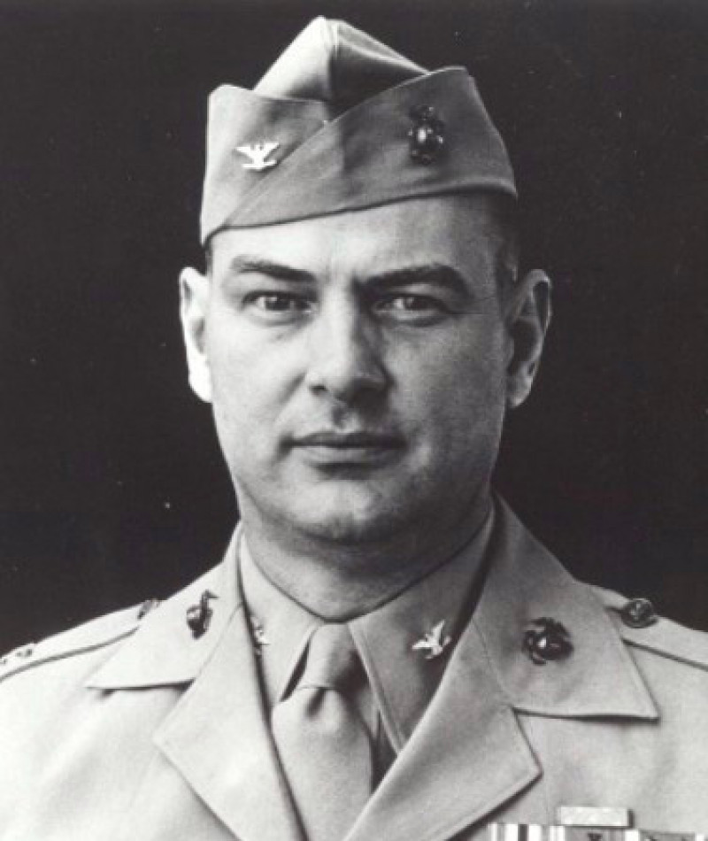 """Medal of Honor Recipient Justice Marion """"jumping joe"""" Chambers"""