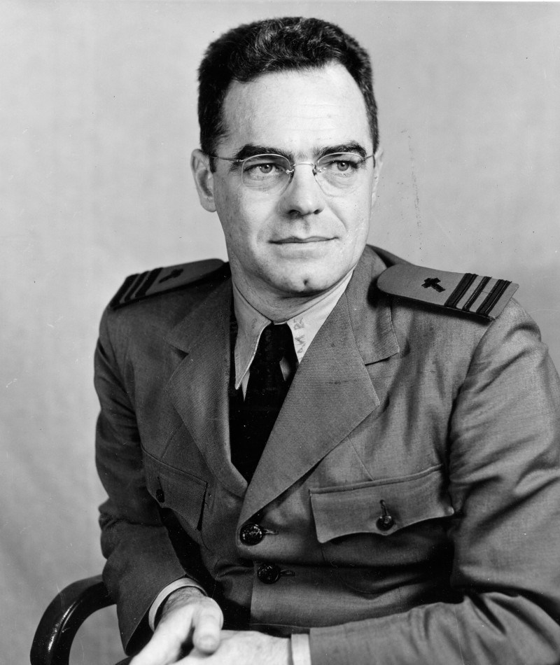 Medal of Honor Recipient Joseph T. O'Callahan