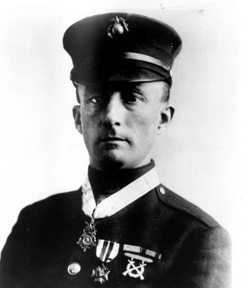 Medal of Honor Recipient Ernest A. Janson, aka Charles F. Hoffman