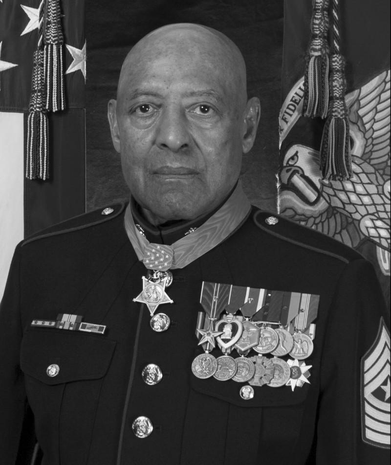 Medal of Honor Recipient Johnny L. Canley