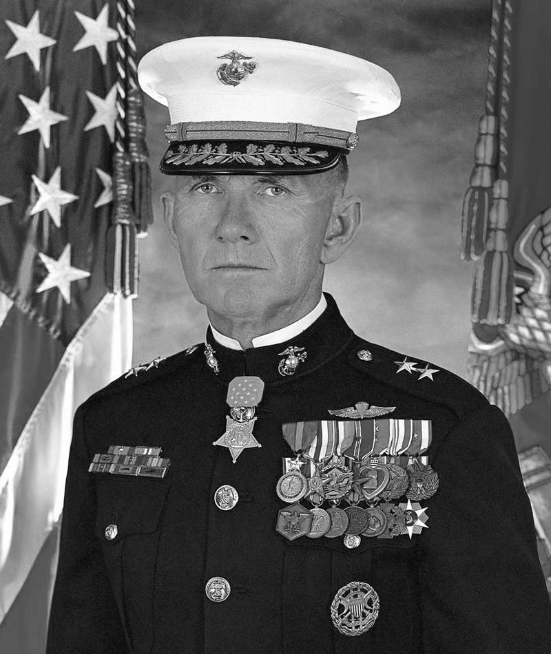 Medal of Honor Recipient James E. Livingston