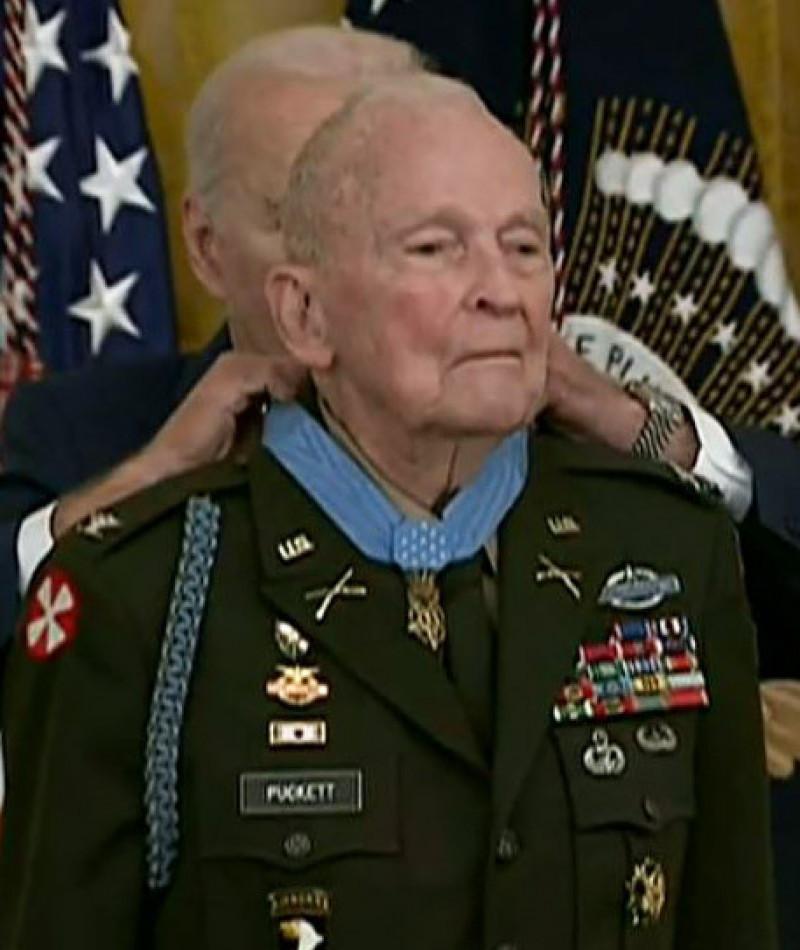 Medal of Honor Recipient Ralph Puckett, Jr.