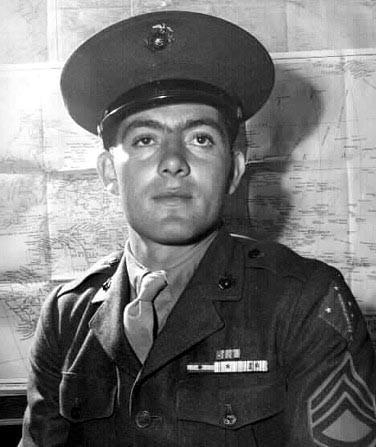 """Medal of Honor Recipient John """"manila jonn"""". Basilone"""