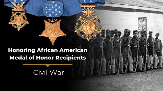 african american MOH recipients of civil war