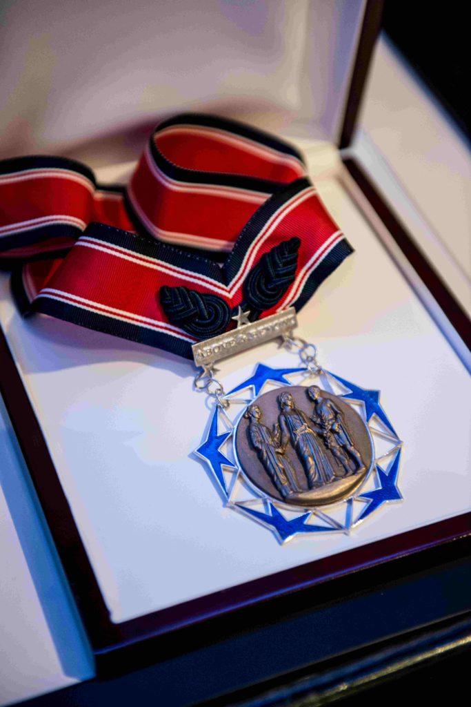 Citizen Honors medal