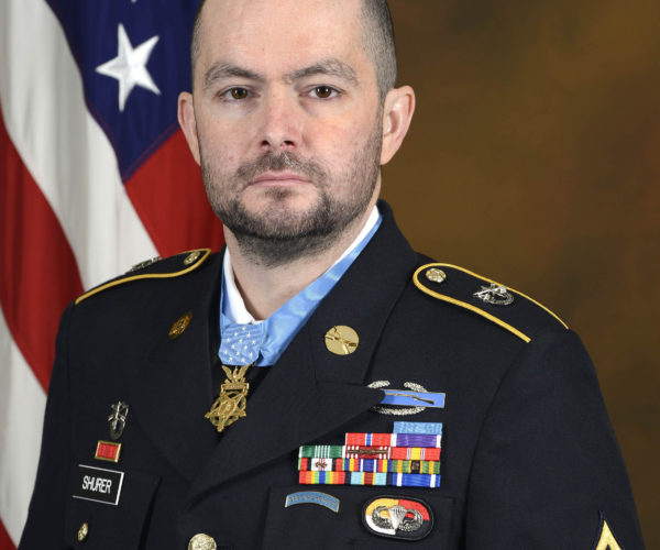 Medal of Honor Recipient Ronald J. Shurer II