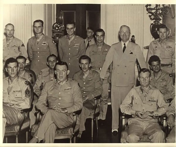 President Truman and WWII MOH group
