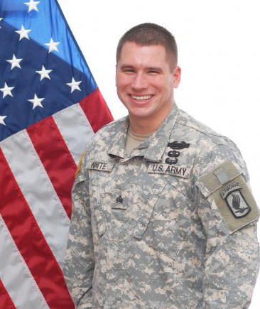 Medal of Honor Recipient Kyle White.