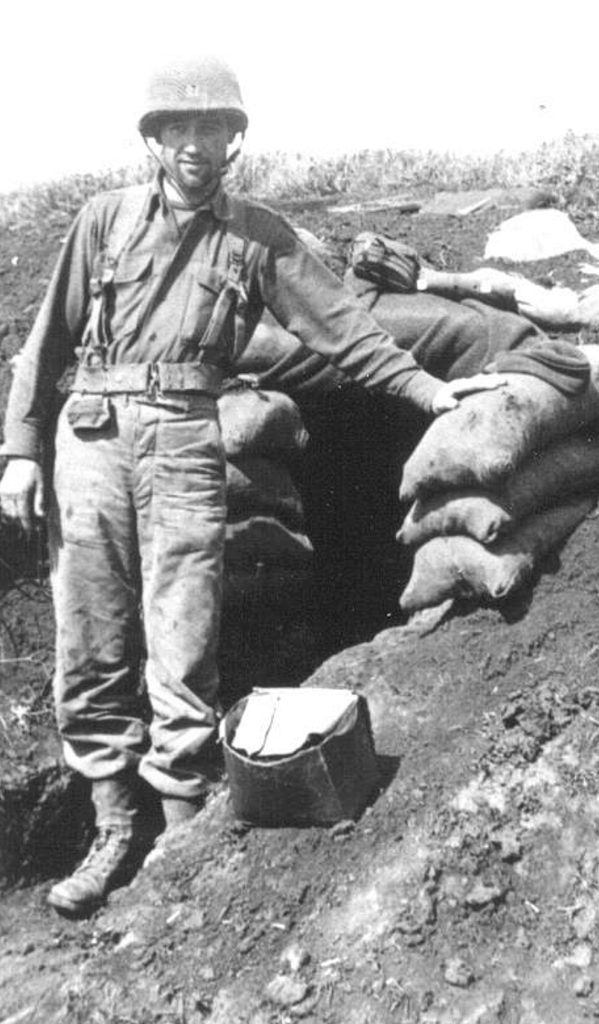 William W. Galt in the field.