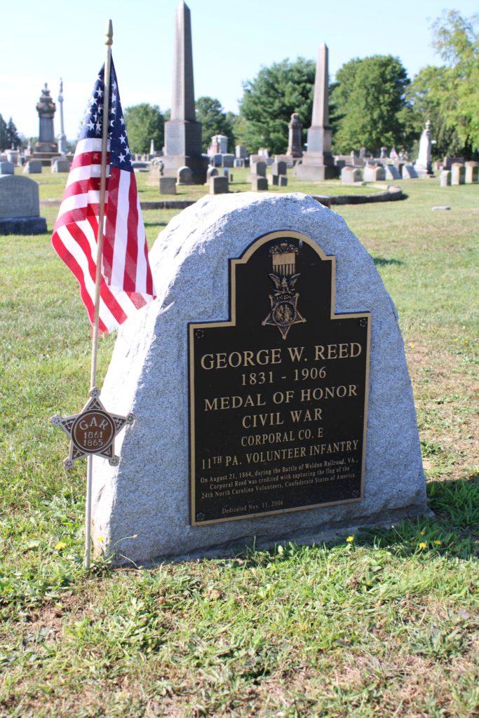 George W. Reed headstone