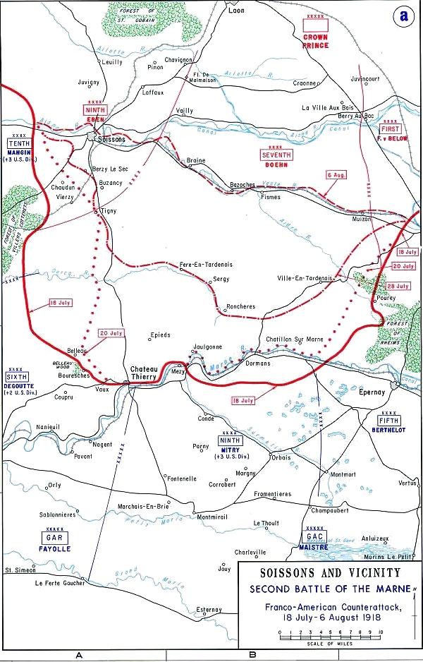 Battle of Belleau Woods, France